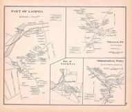 Laconia Town, Laconia P. O, Gilmanton Town, Gilmanton Iron Works, New Hampshire State Atlas 1892 Uncolored